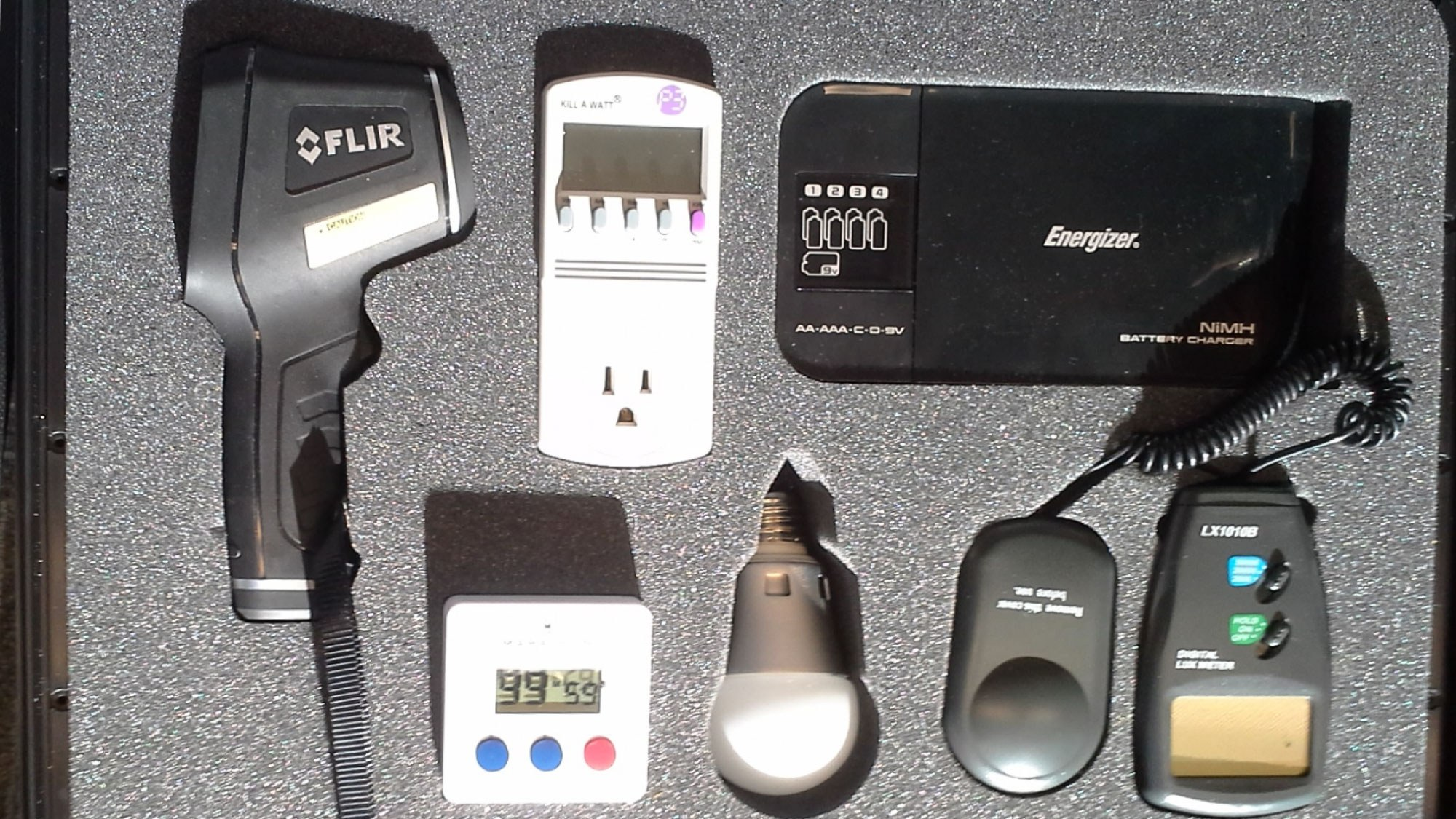 tools in the Home Energy Toolkit